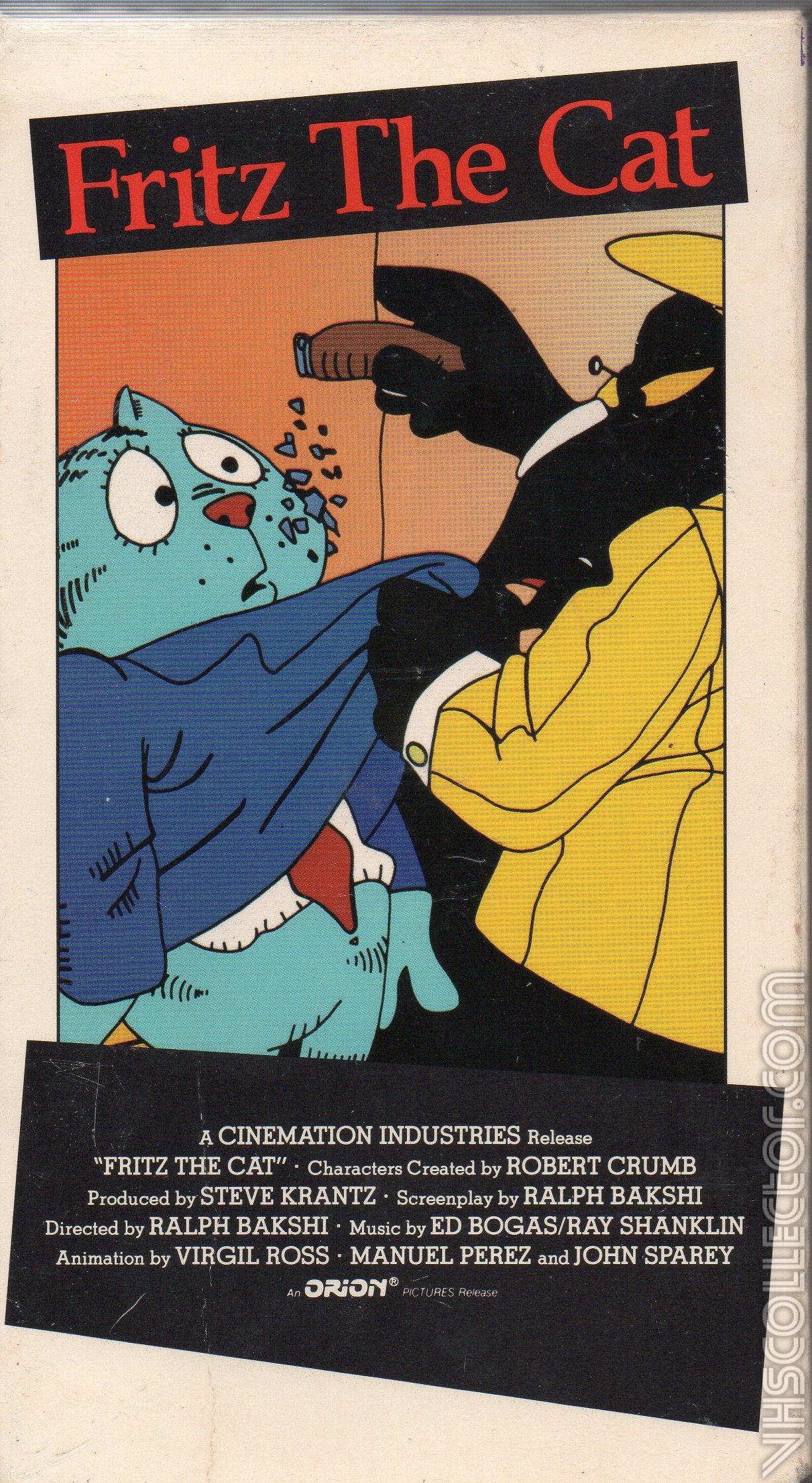 Fritz The Cat Vhscollector Com