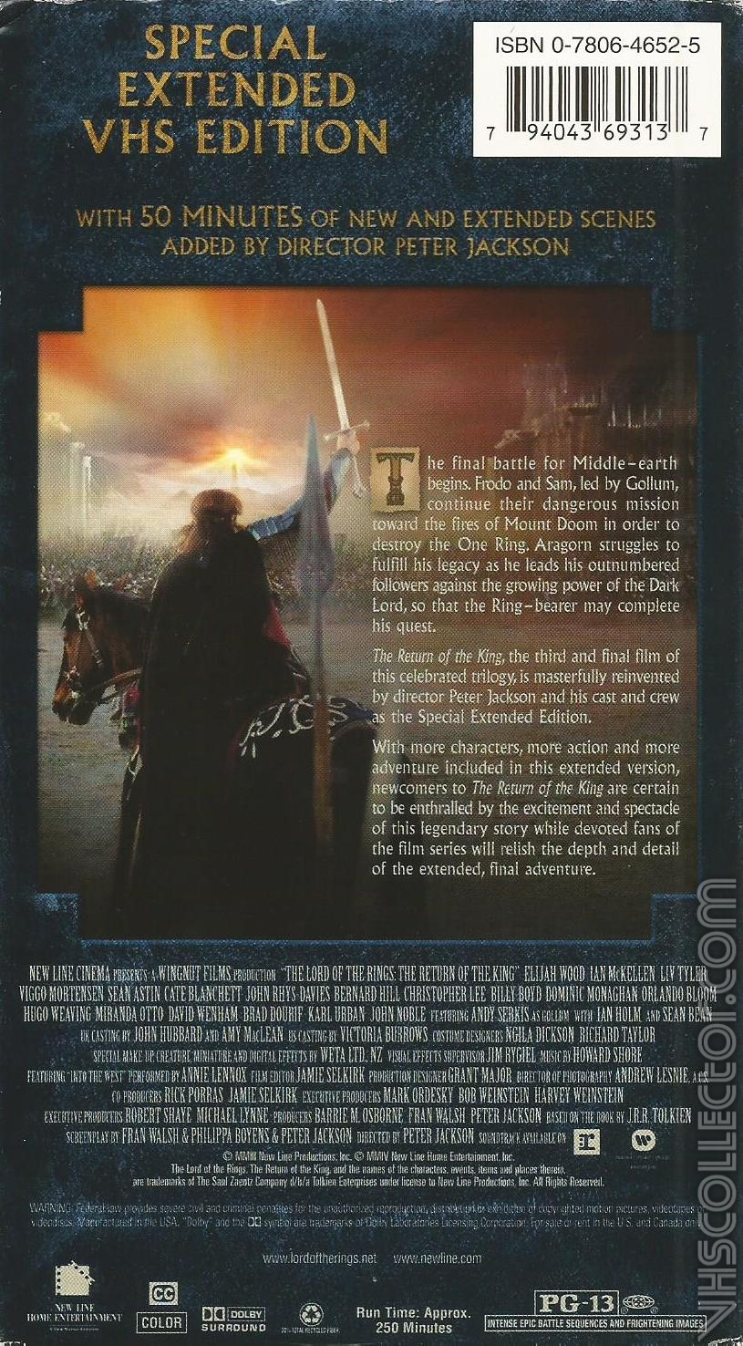 Lord of the Rings: The Fellowship of the Ring - …
