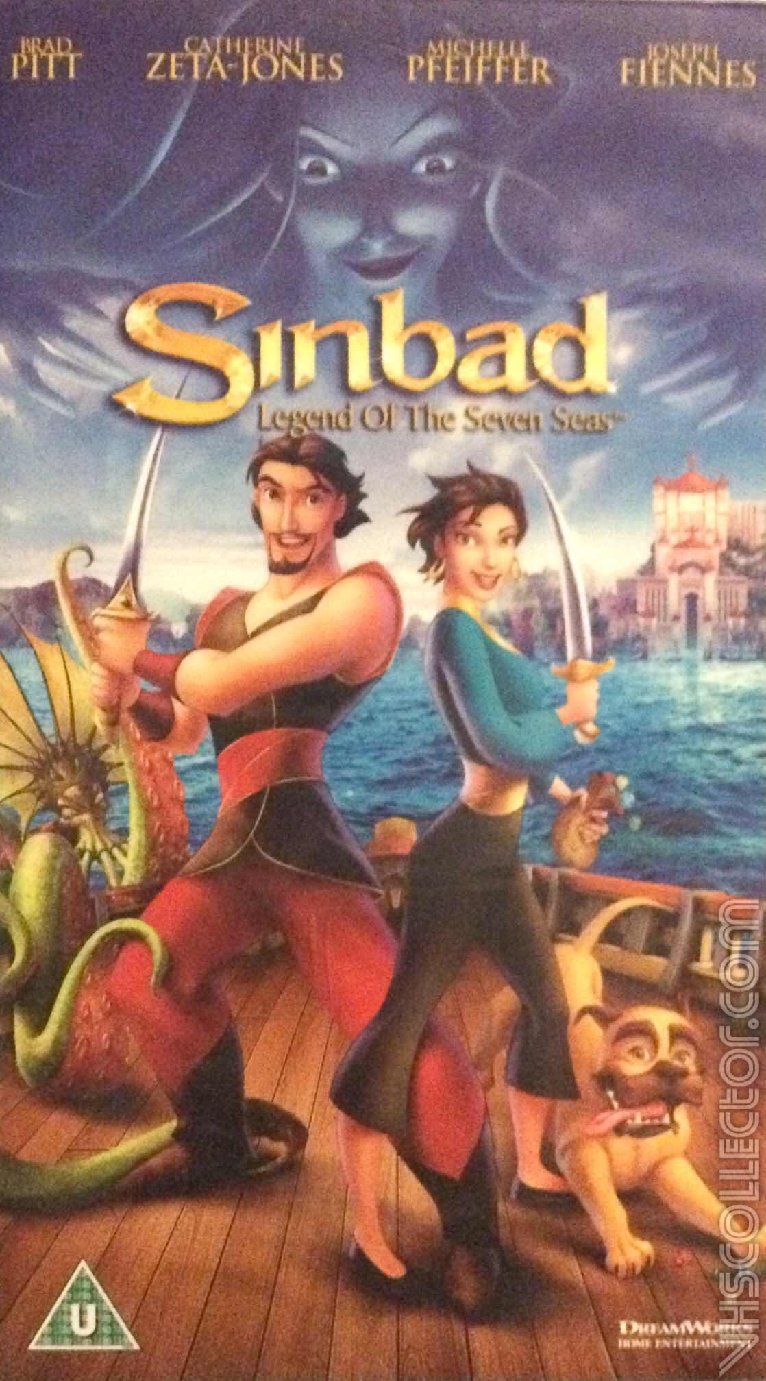 Sinbad Legend of the Seven Seas | VHSCollector.com